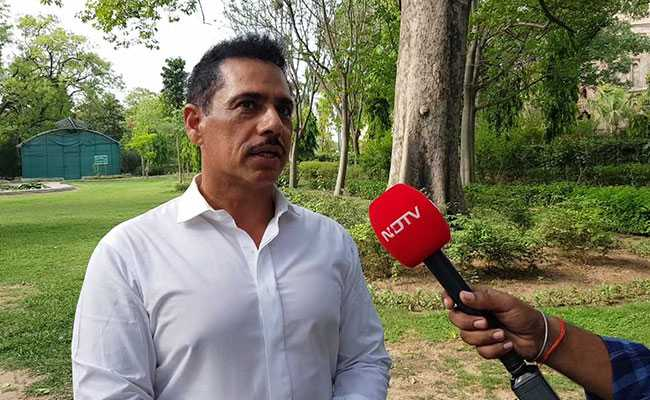 Bhoomi Pujan Should Be An Occasion For National Unity, Says Robert Vadra