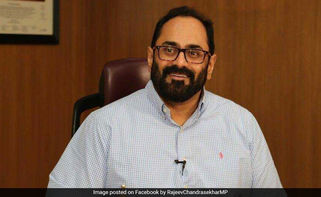 Union Minister Rajeev Chandrasekhar Briefly Loses 'Blue Badge' On Twitter