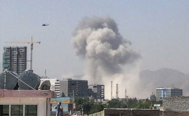 At Least 11 Killed In Taliban Car Bomb Attack On Afghan Intel Office