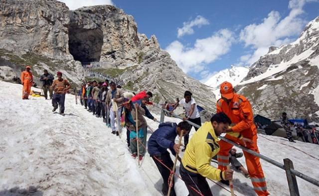 Decision On Amarnath Yatra After Review Of COVID-19 Situation: Jammu & Kashmir Lt Governor