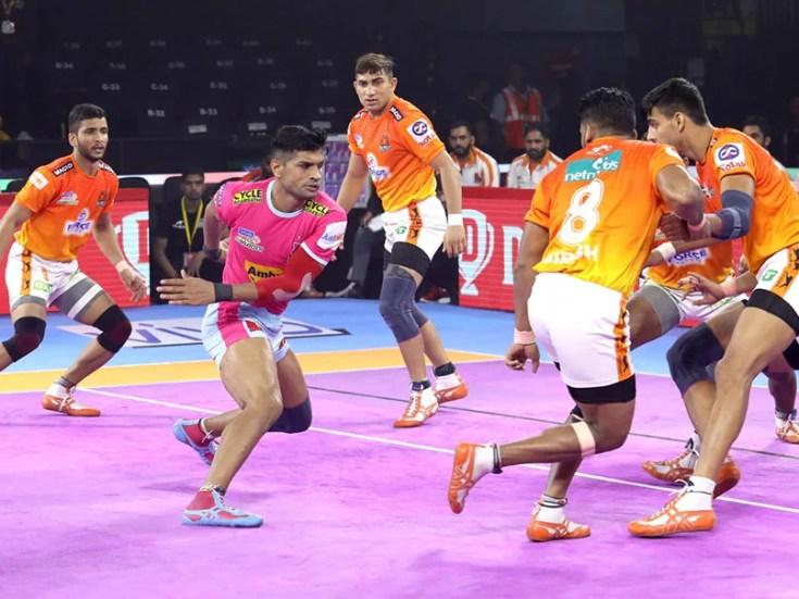 PKL 7: Jaipur Pink Panthers Beat Puneri Paltan 33-25