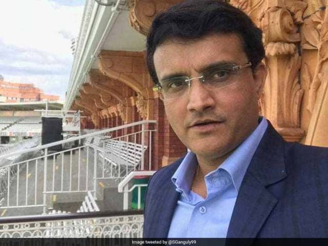 Sourav Ganguly can be the new president of BCCI, being told at the forefront in the race