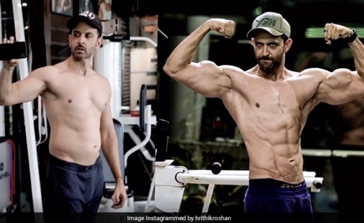 Hrithik Skinny Fat Transformation