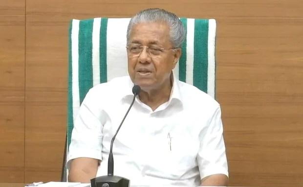 पिनाराई विजयन ने 11 गैर-बीजेपी मुख्यमंत्रियों से मुफ्त कोविड जब्स के लिए केंद्र पर प्रेस करने का आग्रह किया