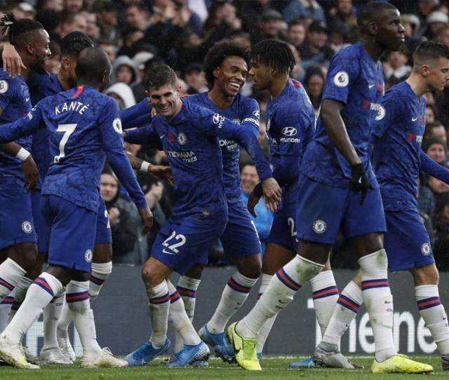 Chelsea Vs Crystal Palace Chelsea Move To Second In Premier
