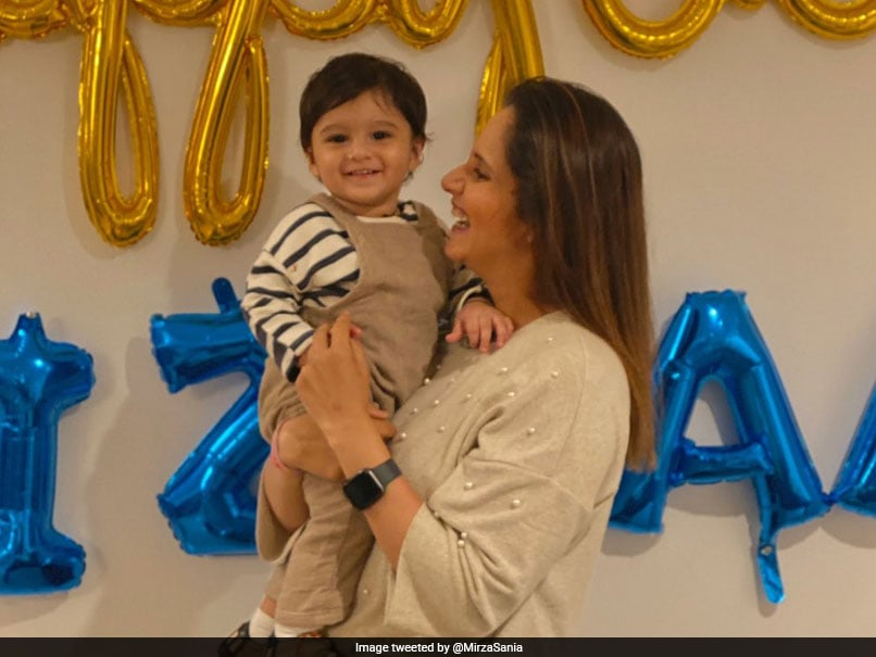 Sania Mirza Posts Picture With Little Sunshine Izhaan, Twitterati Pour In Love