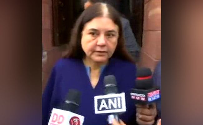 Dropped From Top BJP Body, Maneka Gandhi Says 'Doesn't Reduce My Stature'