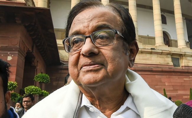 'Gross Betrayal Of Tamils': P Chidambaram Shreds Centre Over Lanka Issue