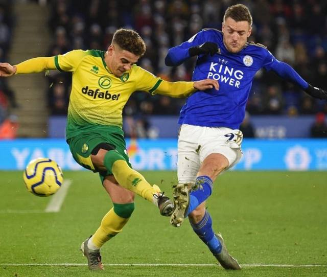 Leicester Vs Norwich Leicesters Winning Run Ends With Draw