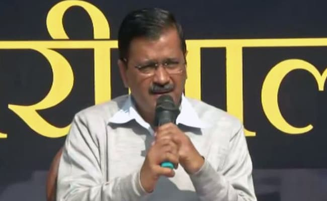Arvind Kejriwal promises 300% less pollution, drinking water 24 hours a day in Delhi