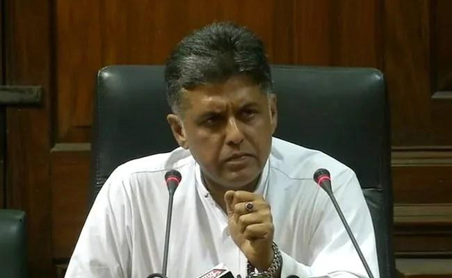 NDA Government Has Gone 'Bankrupt', Says Congress Leader Manish Tiwari