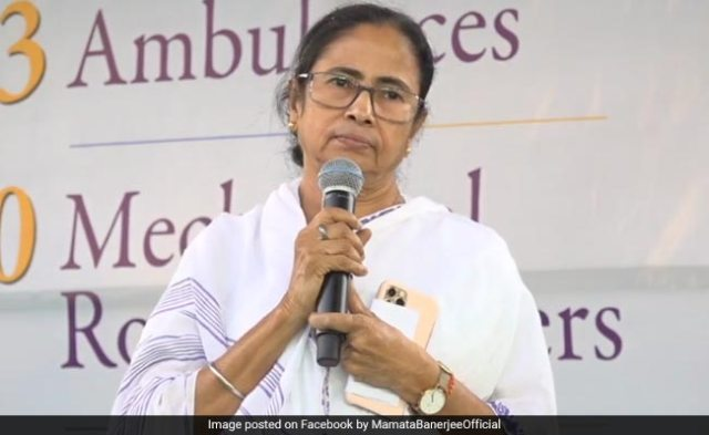 Mamata Banerjee Composes Song On Coronavirus, Appeals For Social Distancing