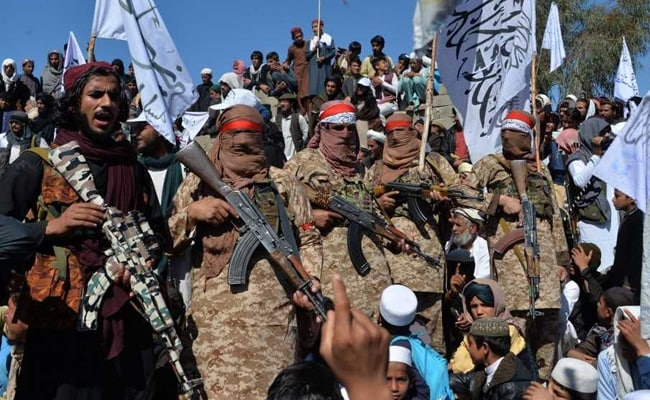 Afghanistan Defence Minister Says 'War Is Raging' With Taliban