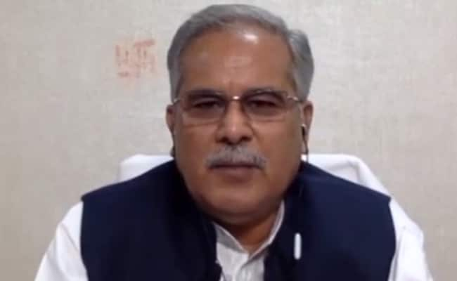 Chhattisgarh Chief Minister Launches Congress Theme Song For Bihar Polls