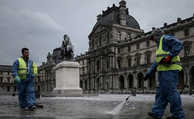 'Minuscule Traces' Of Coronavirus In Non-Potable Water In Paris: Official