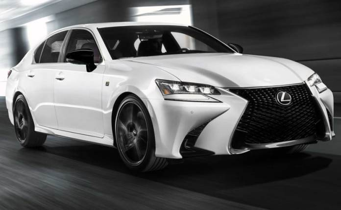 Only 200 units of the Lexus GS Black Line will be manufactured.