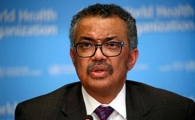 WHO Chief Tedros Adhanom Ghebreyesus Plans To Seek Second Term: Report