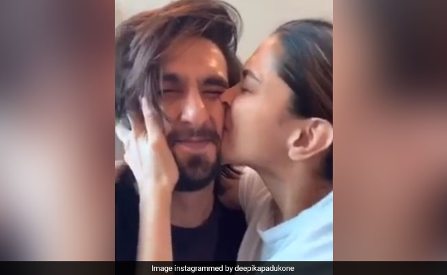 For Deepika Padukone, Ranveer Singh's Is The 'World's Most Squishable Face'