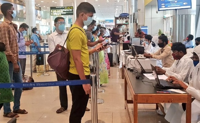 Covid Negative Report Must For Air Travellers Arriving In Chhattisgarh