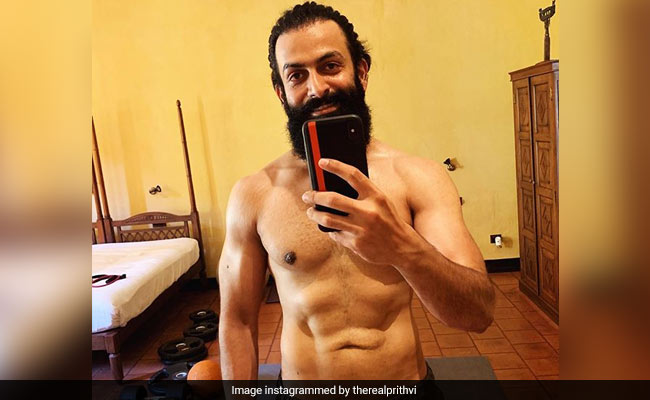 Prithviraj Shares Body Transformation Pic A Month After 'He Had Dangerously Low Fat Percentage'