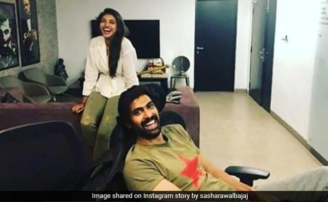How Adorable Are Newly-Engaged Miheeka Bajaj And Rana Daggubati?