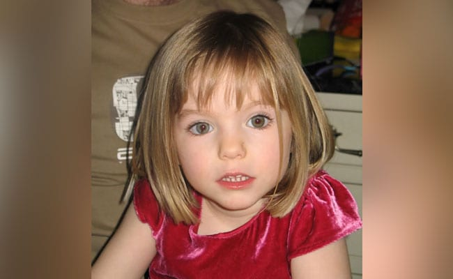 """Concrete Evidence"" UK Girl Madeleine McCann Who Disappeared In 2007 Is Dead: Prosecutor"