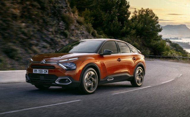 This is the first time that the Citroen C4 range gets a fully electric variant