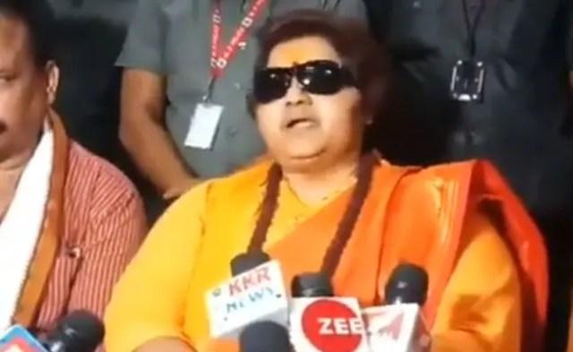 'Recite Hanuman Chalisa To Fight Coronavirus': BJP's Pragya Thakur
