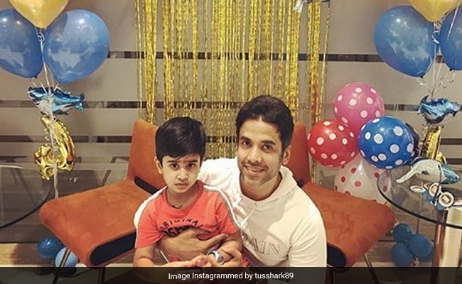 "Tusshar Kapoor's Birthday Wish For His ""Giift From God"" – Son Laksshya"