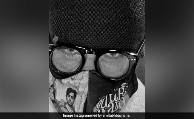 Amitabh Bachchan Shares What A Mask Is Called In Hindi. Who Knew?