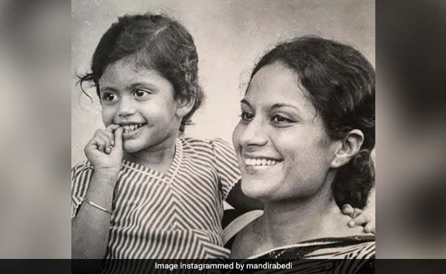 Flashback Friday: This Childhood Pic Perfectly Sums Up Mandira Bedi's TGIF Mood