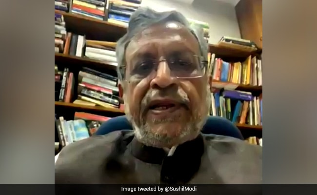 Stumped By Chirag Paswan, Sushil Modi Performs Pacifist On Bihar Polls