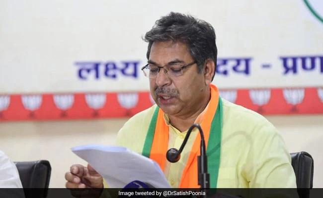 राजस्थान में कांग्रेस सरकार को जाना चाहिए: भाजपा के सतीश पूनिया