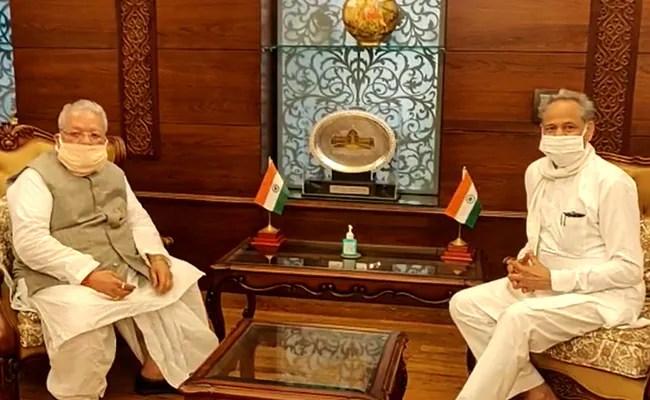 """""""अगर राज्यपाल को धमकी दी जा रही है …"""": भाजपा नेता अशोक गहलोत ने टिप्पणी की"""