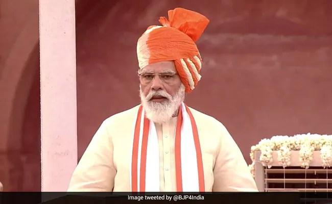 """""""जम्मू-कश्मीर के पास अपना मुख्यमंत्री होने के लिए प्रतिबद्ध"""": स्वतंत्रता दिवस पर पीएम मोदी"""