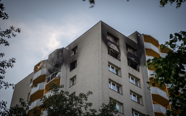Eleven Killed In Suspected Arson At Czech Apartment Block