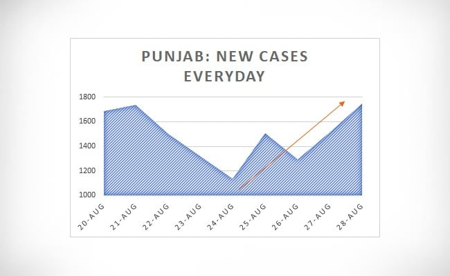 punjab new cases everyday