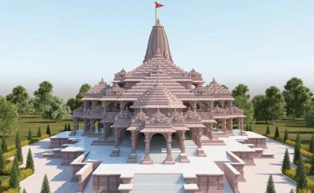 Pics: आज अयोध्या में राम मंदिर समारोह के लिए रंगों की होली
