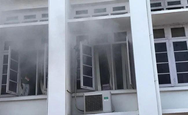 केरल सचिवालय में आग, अफसरों ने उबार लीं फाइलें