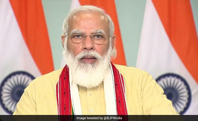 'Nitish Kumar Played Big A Role To Meet Aim Of New India, New Bihar': PM