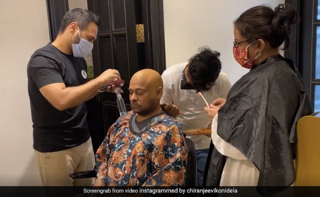 Remember Chiranjeevi's 'Urban Monk' Look?  Here's The Secret Behind It