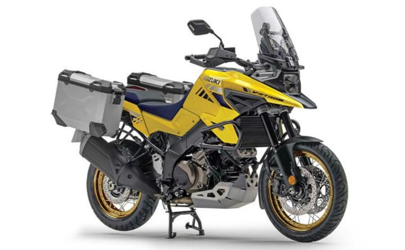 The Suzuki V-Strom 1050 XT PRO gets standard off-road ready accessories