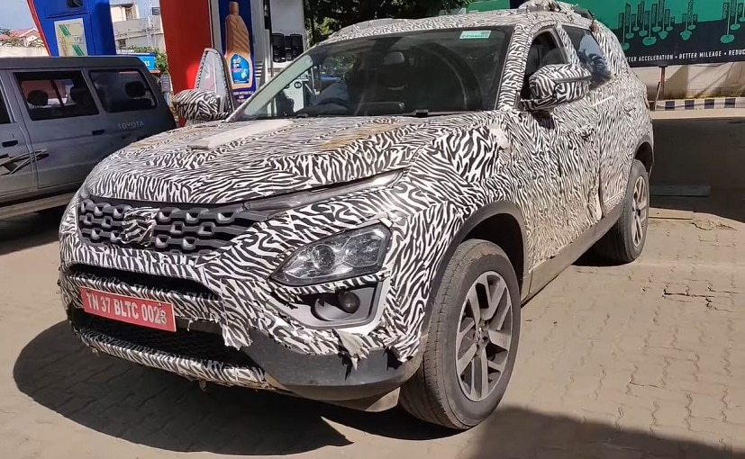 The upcoming Tata Gravitas SUV is a seven-seater version of Tata Harrier.