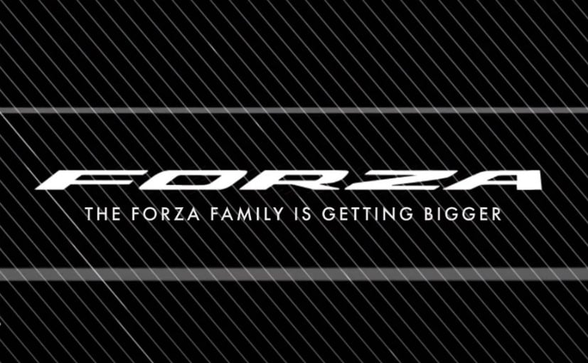 The new Honda Forza will be launched in Europe on October 14, 2020.