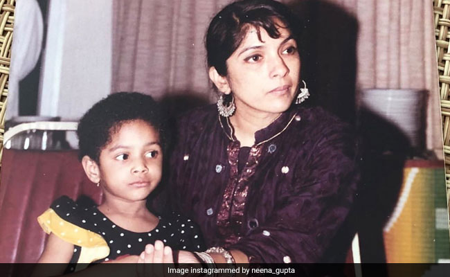 Neena Gupta's Caption For Throwback Pic With Daughter Masaba Will Leave You In Splits