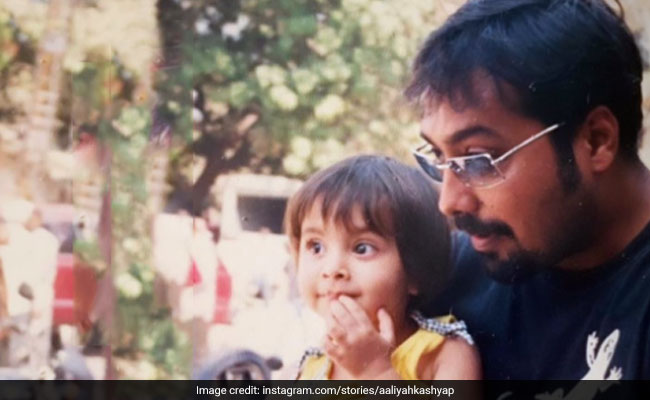 On Anurag Kashyap's Birthday, Daughter Aaliyah Shares A Priceless Throwback