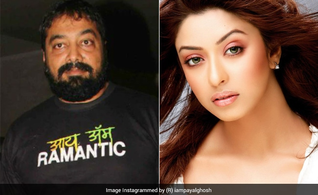 """""""बेसलेस,"""" अनुराग कश्यप के बाद अभिनेत्री पायल घोष ने यौन उत्पीड़न का आरोप लगाया"""