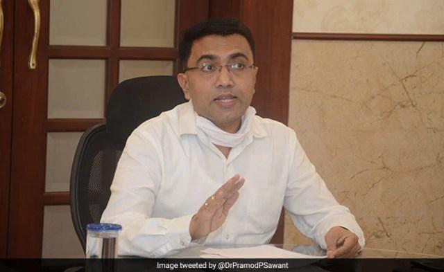 गोवा के मुख्यमंत्री प्रमोद सावंत टेस्ट कोविद पॉजिटिव, इन होम आइसोलशन