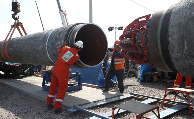 Russia, Germany 'Satisfied' With Progress Of Nord Stream-2 Pipeline
