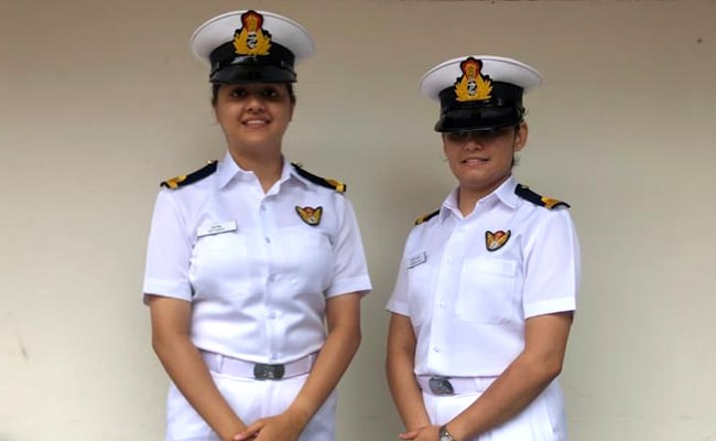 2 Women Officers To Be Posted On Indian Navy Warship In Historic First